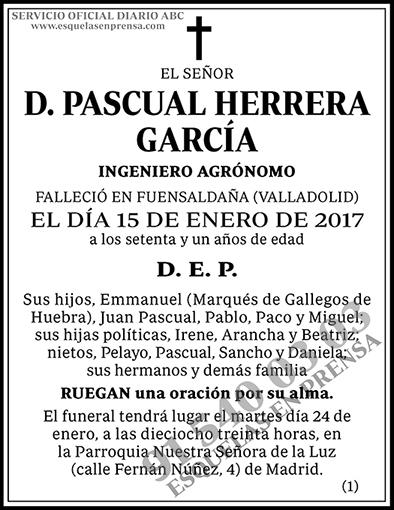 Pascual Herrera García